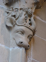 Southwell Minster - Medieval Carving