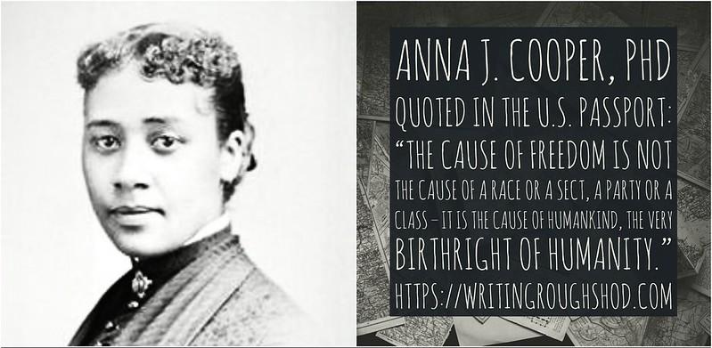 ANNA J. COOPER #100travelHERS