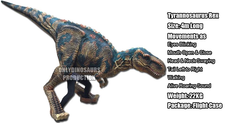 Animatronic T-Rex Puppet