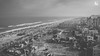 The other side of Marina Beach (B/W) by Adithya Ganesan