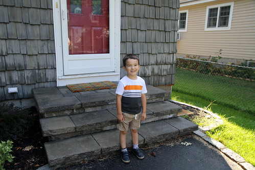 James's Pre-K First Day 2015