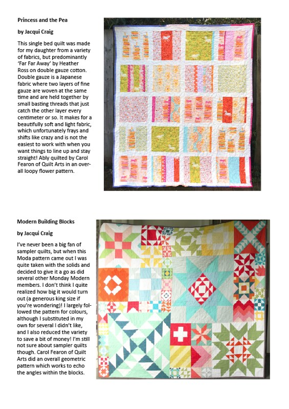 My quilts at Alberton
