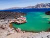 Santorini Nea Kameni Island, Greece
