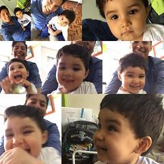 El es mi #Nasser, al principio se convierte en muñeco inexpresivo pero luego le encantan las fotos al bello, es para comérselo!! 😘👶