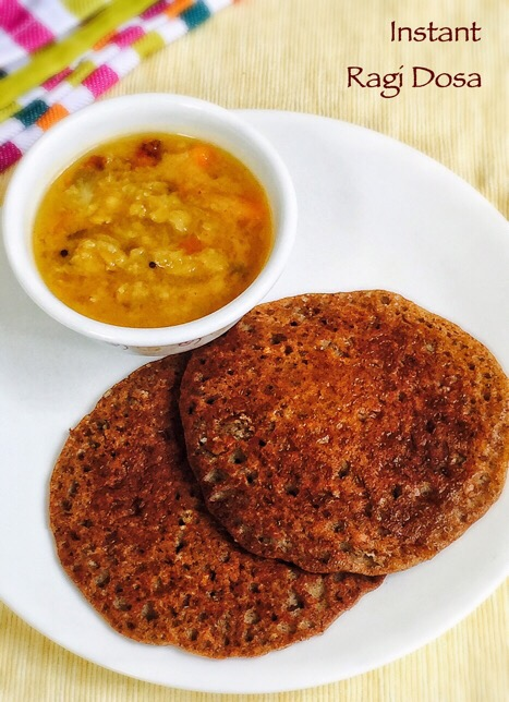 Instant ?Ragi Dosa for baby and Toddlers