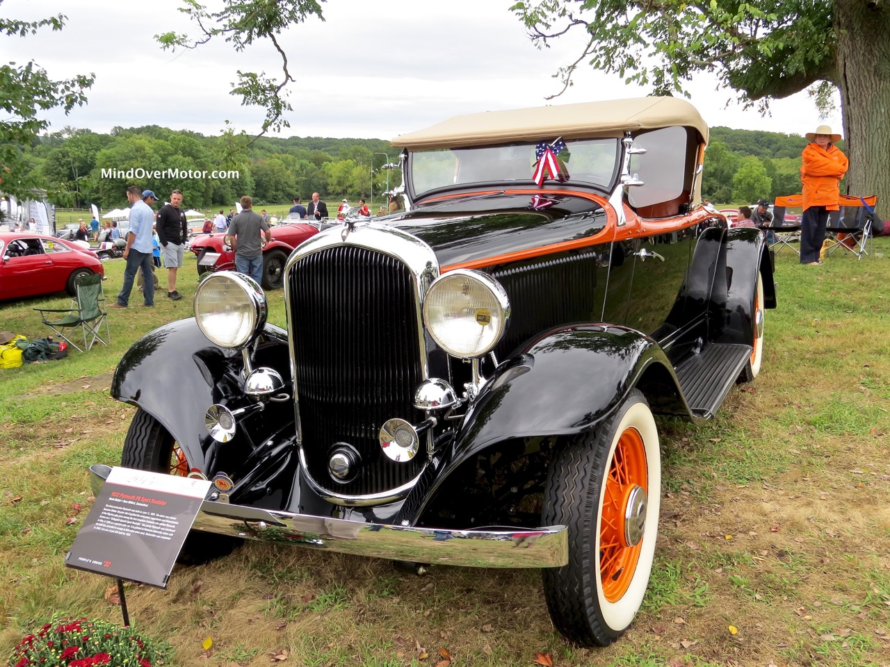 1932 Plymouth P8 Roadster Front