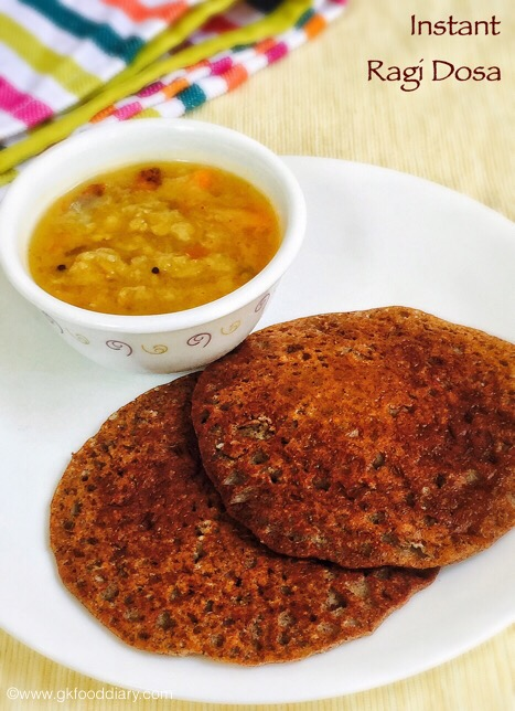 Instant ?Ragi Dosa for baby and Toddlers1