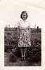 Flower dress in a flower field by Tejas Cowboy