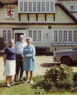 Lucy, Walt & Elizabeth, 1973
