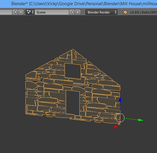 3D Printing - Occoquan Mill House Museum -Screenshot - Intersection Aftermath