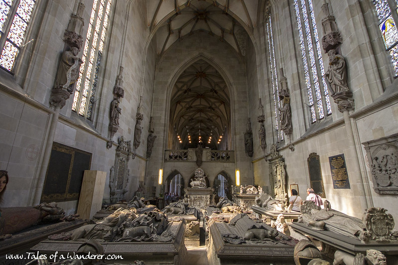 TÜBINGEN - Stiftskirche zu St. Georg