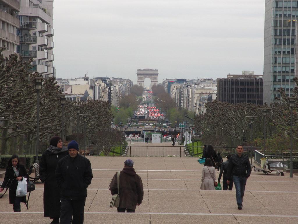 Paris desde La Défense