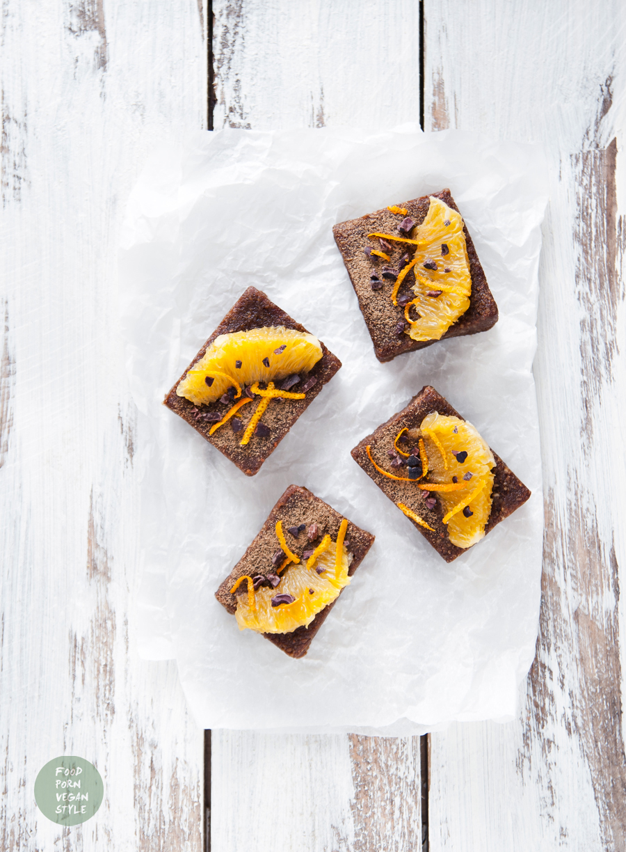 Chocolate-orange brownie with PURYA protein