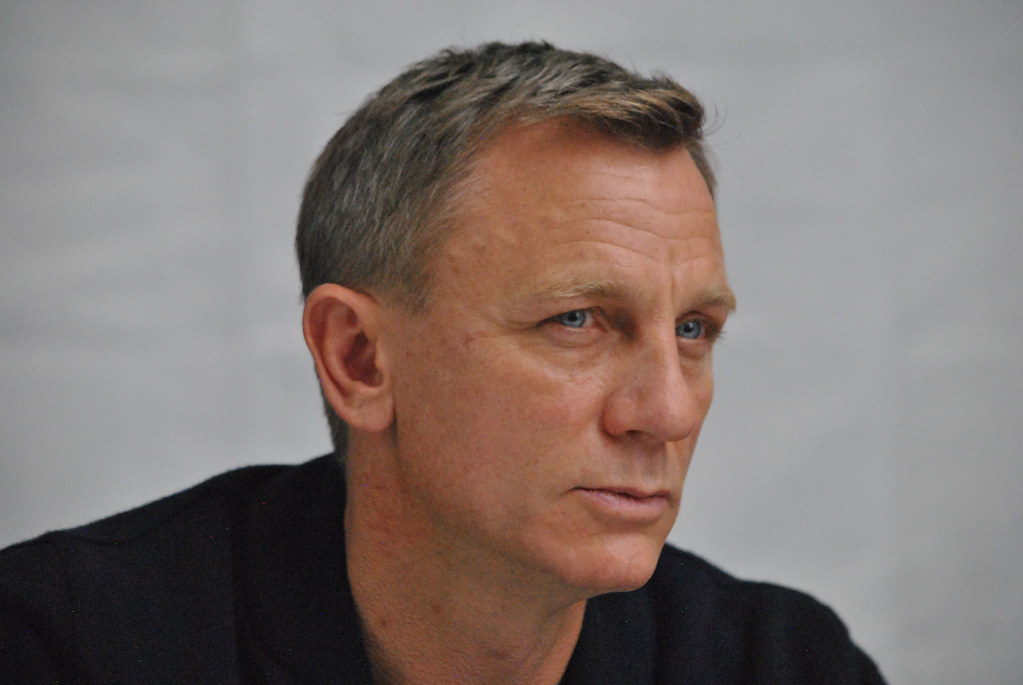 Дэниел Крэйг — Пресс-конференция «007: СПЕКТР» 2015 – 43
