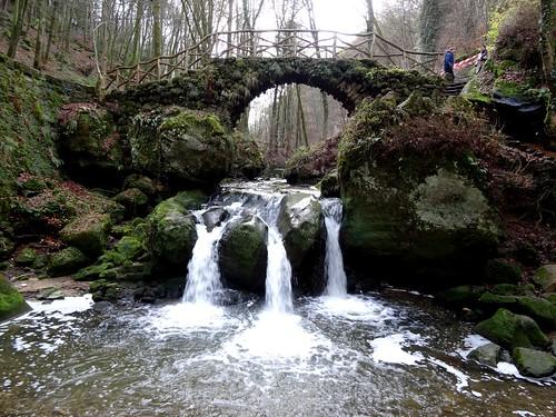Müllerthal: Schiessentümpel waterfall