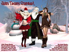 Team Santa Ad for Tayren & Hig's Photo Contest 2015 - Win Big Prizes, No Purchase Necessary!