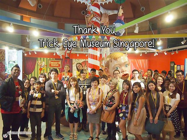Trick Eye Museum Singapore Bloggers