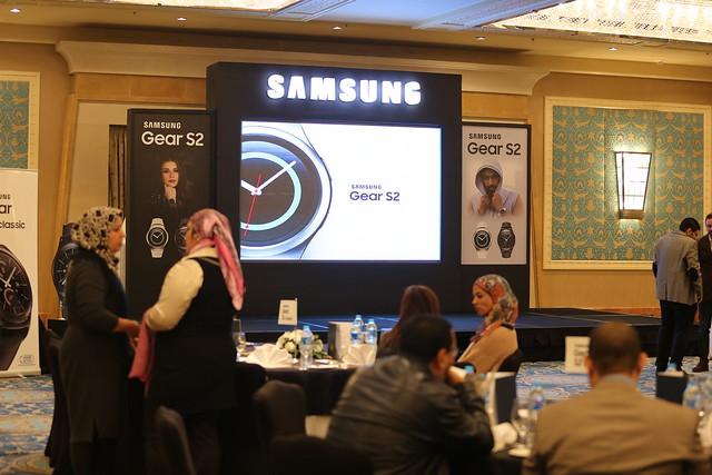 مؤتمر سامسونج لإطلاق ساعة Gear S2 في مصر
