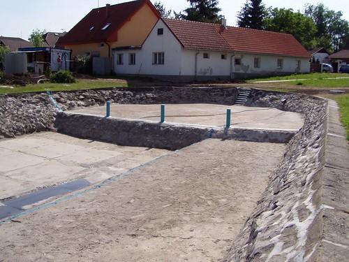 2005 - Rekonstrukce rekreačního rybníku