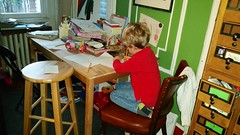 Everett Writing A Program For The Kids' Show