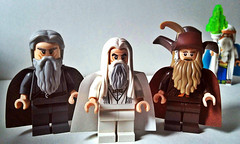 The Wizards of Middle-earth... and who's that?