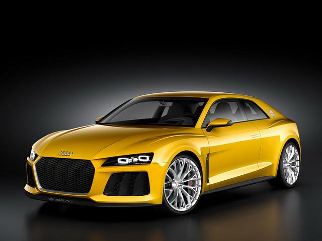Прототип Audi Sport Quattro 2013 года