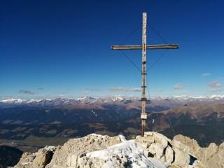 Gipfelkreuz am Birkenkofel