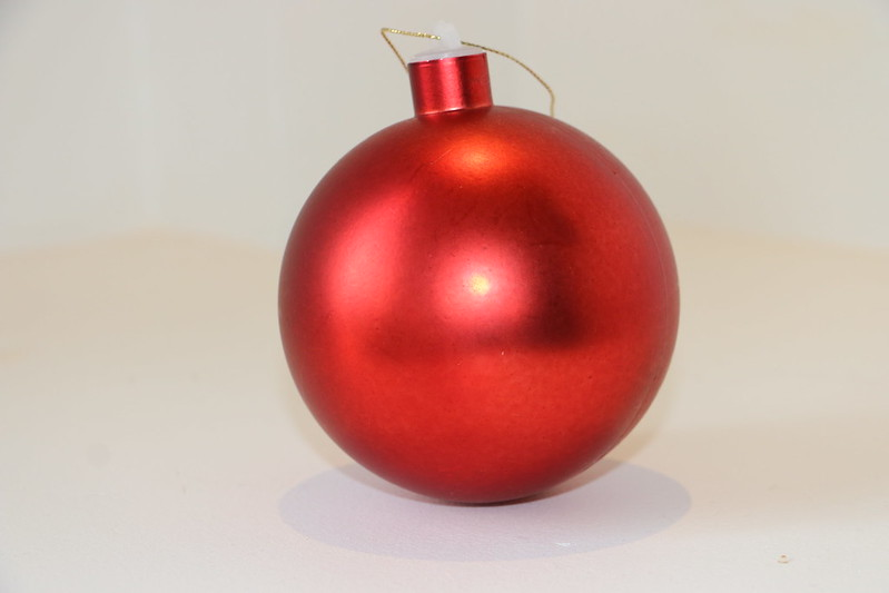 Big red bauble