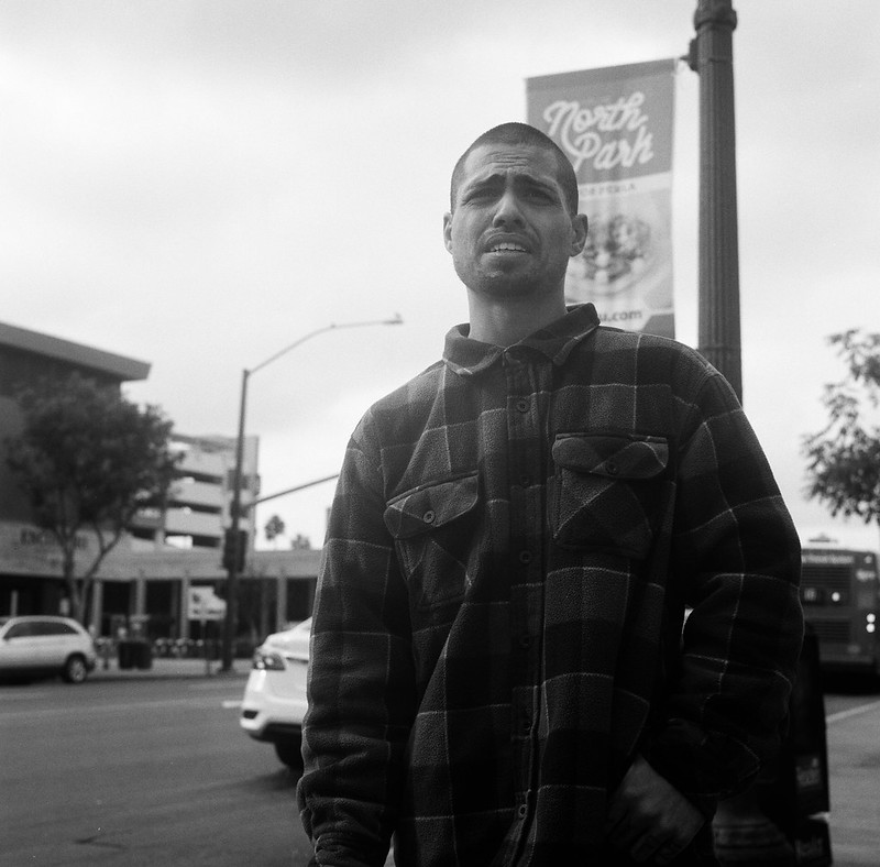 Man on Street, North Park, San Diego