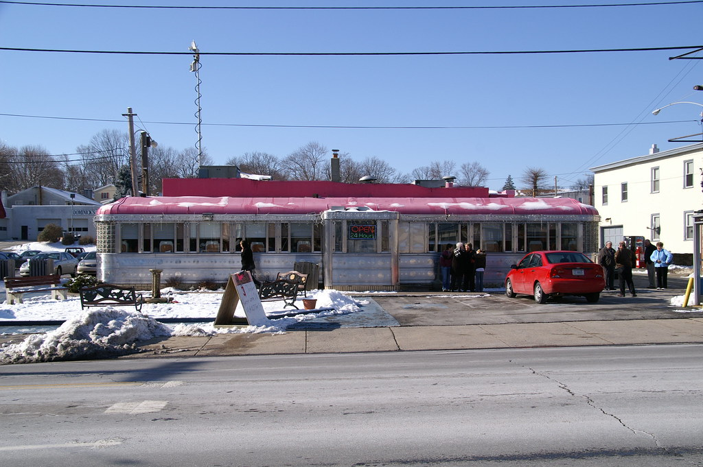 Vale Rio Diner Phoenixville PA Paramount Diner Moved 2008 - Retro Roadmap