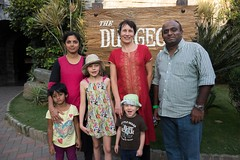 Pavan z rodziną, czyli nasi gospodarze z Bangalore