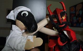 Rutigliano- Pulcinella e la Lettera del Diavolo
