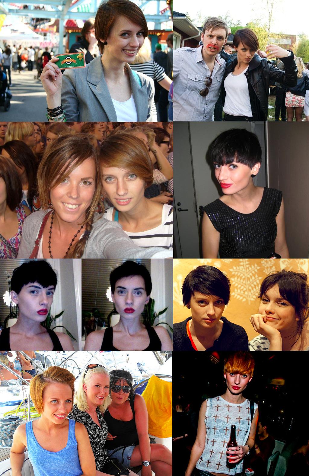 My hair 2009-2011