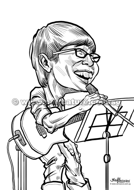黄宏墨 digital caricature for Mediacorp TV Singapore Pte Ltd (watermarked)