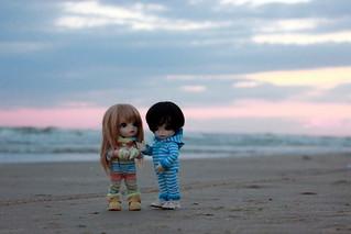 on the seaside. anapa