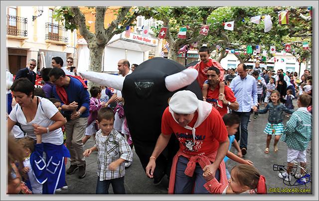 Briviesca en Fiestas 2.015 Segundo encierro Sopas de ajo y encierro infantil (19)