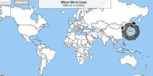 【難民問題】各国の移民の数や内訳がワンクリックでわかる地図が「知るきっかけ」に