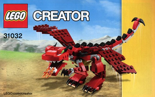 LEGO Creator 31032 Red Creatures ins01