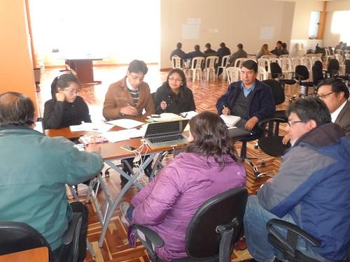 Programa Bosques participa en la formulación del Plan Estratégico Institucional del Gobierno Regional de Puno