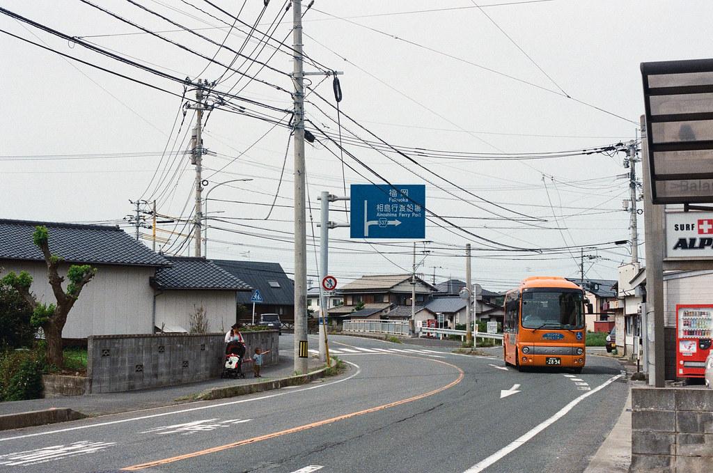 新宮漁港 Fukuoka 2015/09/02 從新宮車站走到漁港,一開始走的時候還走錯方向,走了一大段才發現,因為我走路太快了。  Nikon FM2 / 50mm Kodak UltraMax ISO400 Photo by Toomore