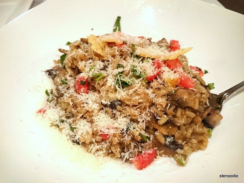 Risotto Fungi with cheese