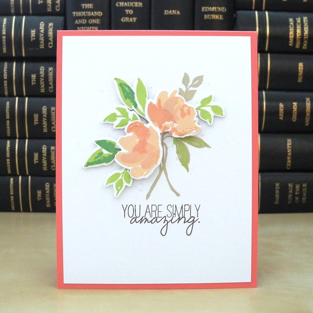 You are Simply Amazing by Jennifer Ingle #JustJingle #SimonSaysStamp #WPlus9 #Cards