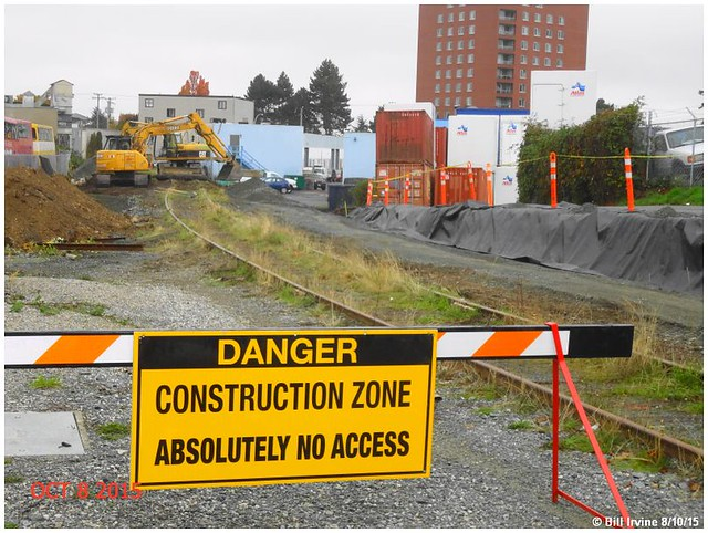 E&N Rail Trail – Humpback Connector Construction Underway: Esquimalt Road to Wilson Street