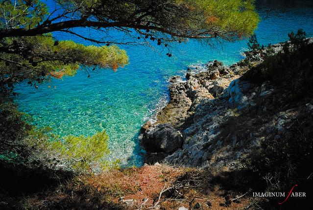 The sea in Histria, Croatia