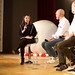 Renata Avila, Kil-nam Chon and Yochai Benkler at the  Open Internet Issues Panel at the Creative Commons Global Summit 2015 by Sebastiaan ter Burg