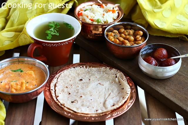 North indian- menu