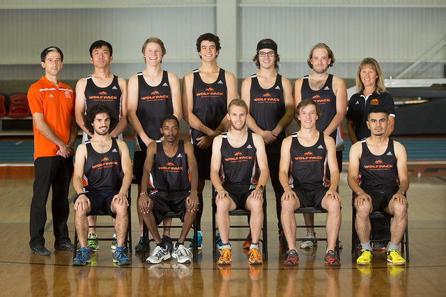 2015-16 Mens X country team (Snucins)