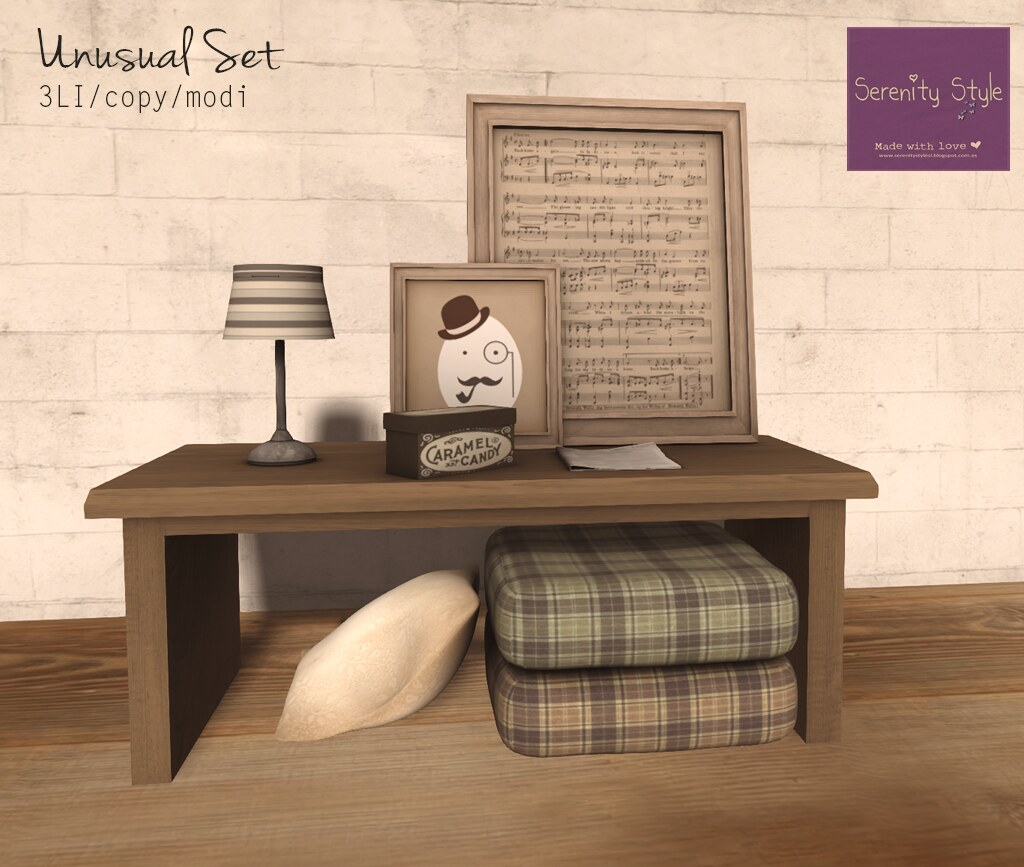 Serenity Style- Unusual Set BROWN