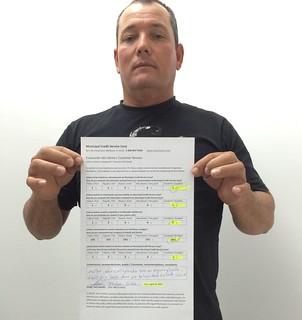 Felipe Diaz Reviews Servicio de Reparacion de Credito, Municipal Credit Service