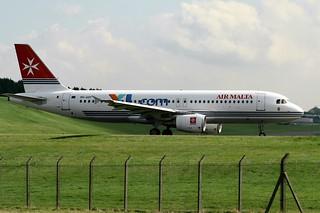 Excel Airways Air Malta 9H-AEF Airbus A320-20 Birmingham(3)